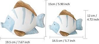 khevga maritime deko bad badezimmer deko fische terracotta