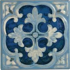 Npt Pool Tile Arctic by The Rich Blue Pool Tile Is Complemented Perfectly By The Flower