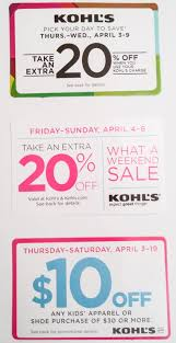 Kohls Coupon April 2018 In Store - Lifetouch Coupon Code ...