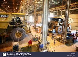 100 Truck Shop Dumper Workshop In Escondida Chile Stock Photo 210357927 Alamy