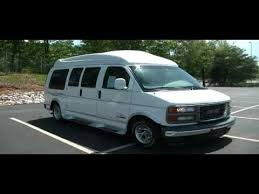 FOR SALE 2000 GMC 1500 HIGH TOP CONVERSION VAN ONLY 21K MILES STK 11686s