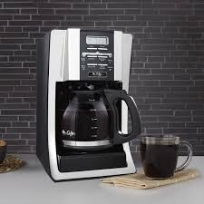 Mr CoffeeR Advanced Brew 12 Cup Programmable Coffee Maker Black Chrome
