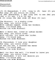 Smashing Pumpkins Rocket Bass Tab by Traditional Song Shenandoah With Chords Tabs And Lyrics Folk