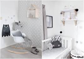 chambre bébé grise et décoration chambre bébé garçon et fille jours de joie et nuits