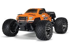 100 Brushless Rc Truck Arrma 110 Granite 3S BLX 4WD RC Monster Orange 80kph