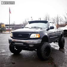 100 2001 Ford Truck F 150 Fuel Maverick Custom Suspension Lift 5in Custom Offsets