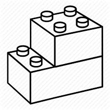 Image result for duplos clipart black and white