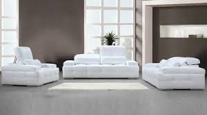 canapé cuir mobilier de canape blanc cuir design moderne salon convertible idees couleur