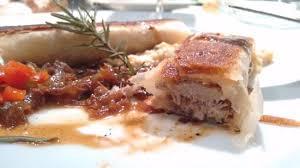 cuisine cor du sud cordero en masa philo con cebollas caramelizadas ajies salteados y