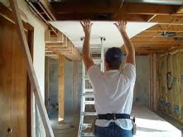 Hanging Drywall On Ceiling Or Walls First by Drywall Tip Hanging The Ceiling Youtube