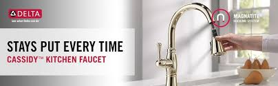 Delta Faucets Cassidy Line by Delta Faucet 9197 Dst Cassidy Single Handle Pull Down Kitchen