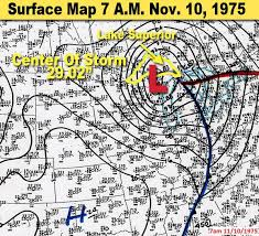 Where Did The Edmund Fitzgerald Sank Map by The Gales Of November What Are They And Why In Michigan Mlive Com