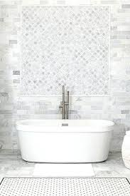Gray Bathroom Floor Tile Marble Inspired Collection Featuring White Slate