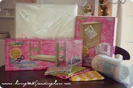 DiY American Girl Doll Bed Part 2 Living Well Spending Less
