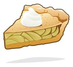 Apple Pie vector art illustration