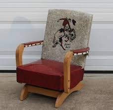 100 Cowboy In Rocking Chair BRONCO BUSTER Antique Childs Rockabilly Etsy