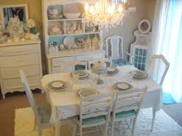 Rustic Chic Dining Room Ideas by Picture Of Shabby Chic Extendable Dining Table With 6 Chairs O