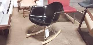 100 Eames Style Rocking Chair ROCKING CHAIR FIBER GLASS CH6135 FLOOR MODEL MUST PURCH