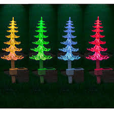 Xmas Tree Watering Devices by Garden Mile Large Solar Powered Colour Changing Led Garden