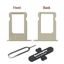 Buy Sourcingbay 1PC Silver SIM Card Tray Holder Slot Replacement