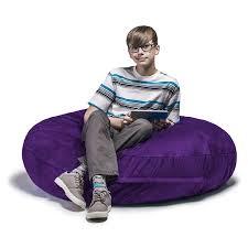 Buy Purple : Jaxx Bean Bags Cocoon Junior Kids Microsuede ...