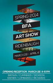 BFA Art Show Posters