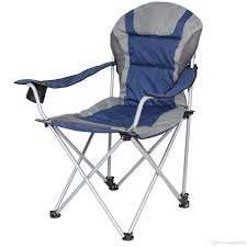 100 Folding Chair With Carrying Case Deluxe Padded Reclining Camping Fishing Beach Portable