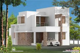 Impressive Ideas Simple Design Home 3 Bed Room Contemporary Villa Kerala And Floor