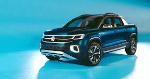 100 Small Utility Trucks Volkswagen Tarok Small Pickup Expands For Longer Cargo Off Road