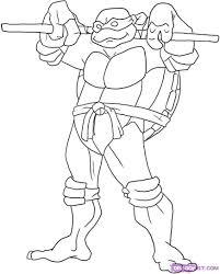 Coloriage Tortue Ninja À Imprimer Masque Super Hero A Imprimer