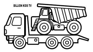 Colors Car And Dump Truck Coloring Pages, Construction Vehicles ... Dump Truck Coloring Pages Loringsuitecom Great Mack Truck Coloring Pages With Dump Sheets Garbage Page 34 For Of Snow Plow On Kids Play Color Simple Page For Toddlers Transportation Fire Free Printable 30 Coloringstar Me Cool Kids Drawn Pencil And In Color Drawn