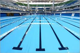 Required To Be Watched Over By Rio Olympic Swimming Pool Underwater Swimmers