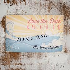 Beach Save The Date Card