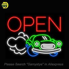 neon pour voiture exterieur enseignes au néon pour voiture ouverte machine à expresso pho néon