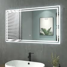 badspiegel led mit beleuchtung touch wandspiegel spiegel