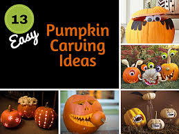 Easy Zombie Pumpkin Stencils by Free And Easy Pumpkin Carving Ideas