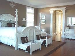 Recliner Sofa Shabby Chic Master Bedroom Blue Wall Interior Color