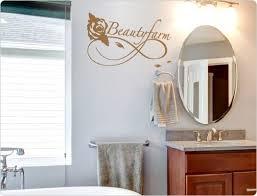 wandtattoo spruch beautyfarm badezimmer wandsticker