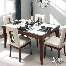 raymour and flanigan round dining room tables black set broadway 5