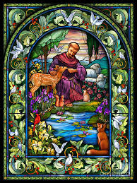 st francis of assisi digital by randy wollenmann