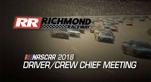 Watch: Driver Meeting Video For Richmond Playoff Race | NASCAR.com
