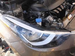 headlight assembly replacement hyundai elantra 2011 2016