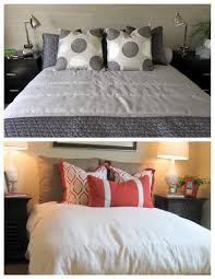 How To Decorate Pillows Bed