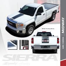 100 Gmc 2014 Truck GMC Sierra Graphics Decals Accents MIDWAY Stripe Kit