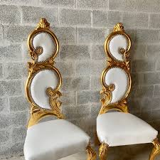 Italian Baroque Throne Chair *2 In Stock High Back Reproduction ... Living Room High Back Sofa Fresh Baroque Chair Purple Italian Throne Reproduction Gold White Tufted 4 Available Pakistan Arabic Fniture French Baroque Queen Throne Sofa Chair View Wooden Danxueya Product Details From Foshan Danxueya Fniture Amazoncom Theodore Wing Kingqueen Queen Chairs Pair And 50 Similar Items 9 Highback Comfortable For A Trendy Modern Interior Black Leather Frame One Of Our New Products Pinterest Vulcanlyric 86 For Sale At 1stdibs
