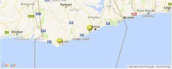 Surf Spots In Ghana