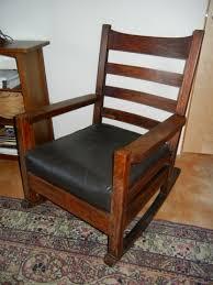 Stickley Rocking Chair Plans by Rocker