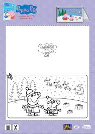 Peppa Pig Christmas Card Craft