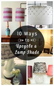 10 DIY Lampshades Craftily Updated