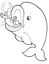Bible Coloring Pages Jonah And The Whale